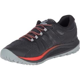Merrell Nova GTX Buty do biegania Mężczyźni czerwony/czarny